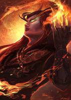 Pyromancer by AppleSin