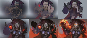 WoW: Undead rage steps by AppleSin