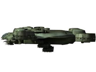 C-21 Dragon Dropship - WIP 4 by MandesDesign