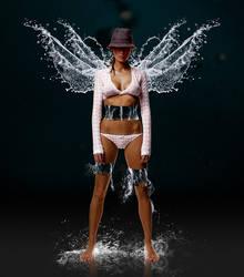 Water angel by ThomasJergel