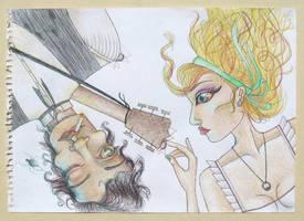 Revival of the Banjo Man. WIP. by Jella-bella