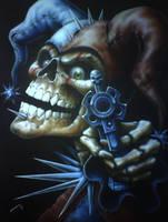 Joker of death by linkerart