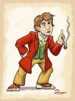 Bilbo Baggins  by DevinQuigleyArt