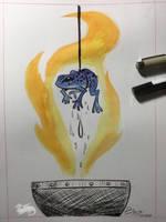 Inktober 2018 Day 1 Poisonous  by DevinQuigleyArt