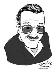 Stan Lee Tribute  by DevinQuigleyArt