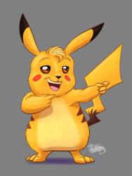 Pikachu Piece  by DevinQuigleyArt