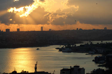 Turkish sunset by Meterious