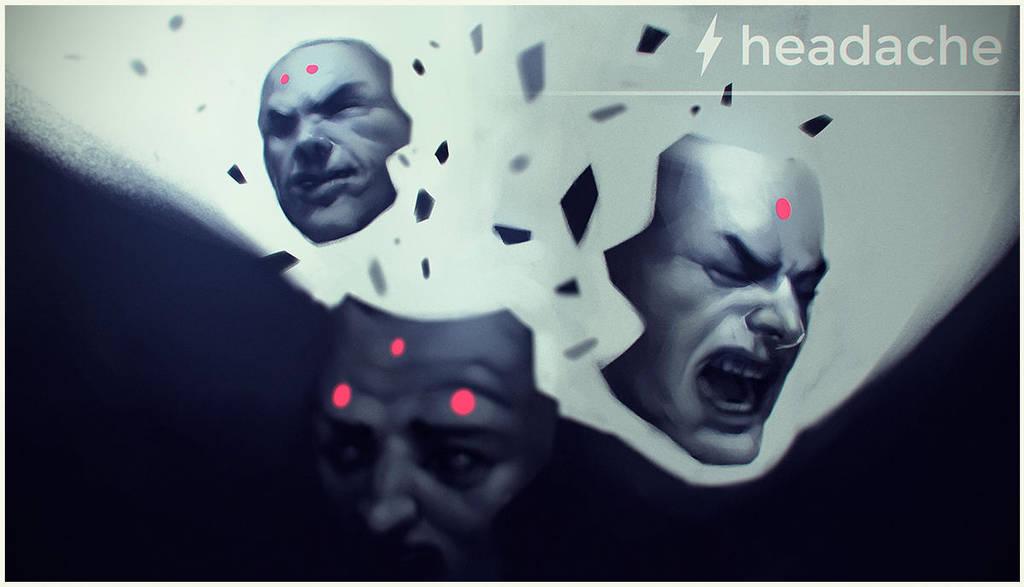 headache by Kurunya