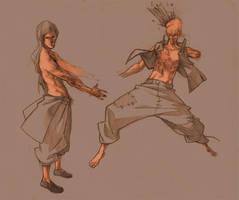 sketches by Kurunya