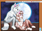 Under the moonlight [Canines-Unite Contest Entry] by Numbsoul