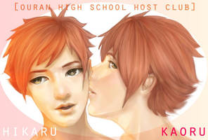 hikaru and kaoru by hpslashlover
