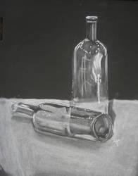 Wine Bottles by GreenEyezz