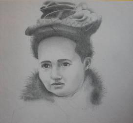 Vintage Portrait by GreenEyezz