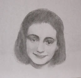 Anne Frank by GreenEyezz