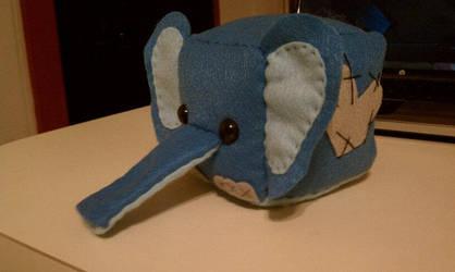 Sugarcubes: little elephant by sugarcubeanimals