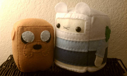SC: Jake and Finn from AT by sugarcubeanimals