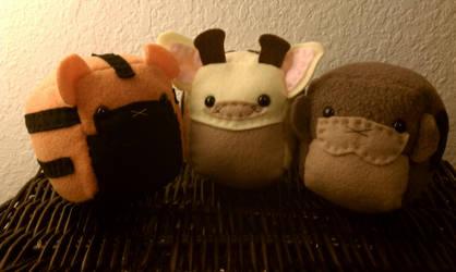 SC: little guys by sugarcubeanimals