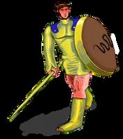 Fantasy Hoplite by niconosave