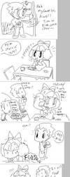 MSN doodles: EAT FIGHT by Momogirl