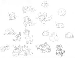 5th gen etc doodles by Momogirl