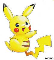 Pikachu by Momogirl