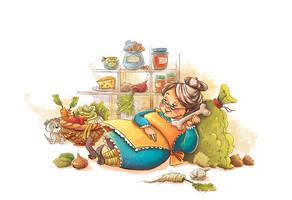 Old Mother Hubbard by MarinaVeselinovic