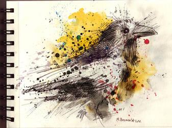 Inktober 14 by MarinaVeselinovic