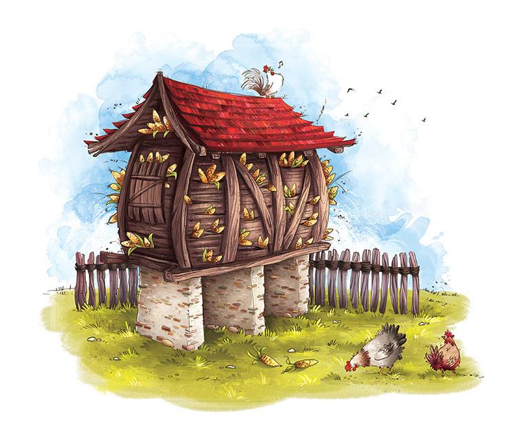 Barn by MarinaVeselinovic