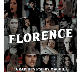 FLORENCE ROLEPLAY ICON PSD by magpiepsd