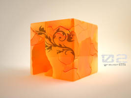 Wallpaper Cubic 02 by gravier25