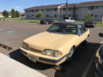 Generation 3 Late Fox Body Mustang Convertible  by TaionaFan369