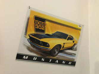 Generation 1 Mustang Boss 302 (promo) by TaionaFan369