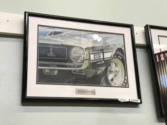 Generation 1 1969 Shelby GT350 Mustang (painting) by TaionaFan369
