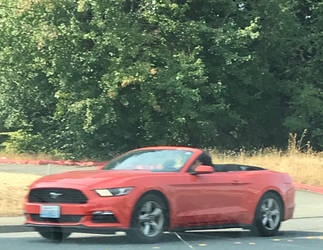 Generation 6 Mustang Convertible  by TaionaFan369