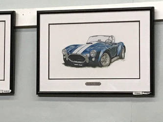 1965 Shelby Cobra (Painting) by TaionaFan369
