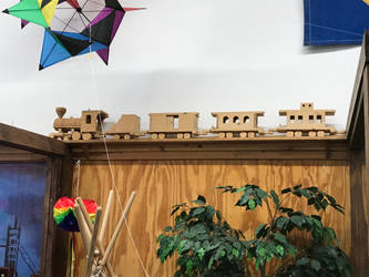 Classic Wooden Trainset by TaionaFan369