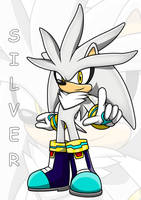Silver The Hedgehog by Arung98