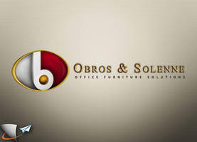 Obros and Solenne 3D logo by Infoworks