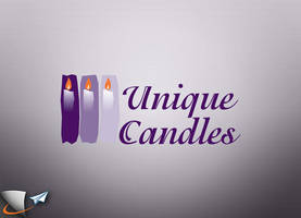 Unique Candles logo by Infoworks