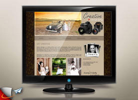 Creative Photography website by Infoworks