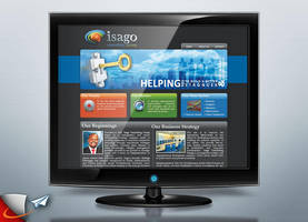 Isago Consulting Group website by Infoworks