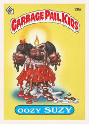 Garbage Pail Kids: Oozy Suzy by TheMackOfHorror
