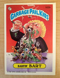 Garbage Pail Kids: Barfin' Bart by TheMackOfHorror