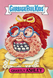 Garbage Pail Kids: Ghastly Ashley by TheMackOfHorror