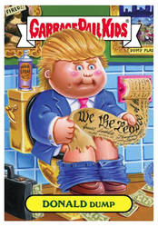 Garbage Pail Kids: Donald Dump by TheMackOfHorror