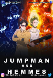 Jumpman and Hemmes (Comic Cover Commission) by GZ-Iconic-Ent