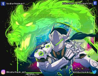 Overwatch: Genji Shimada by GZ-Iconic-Ent