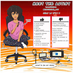 Meet The Artist 2017 by GZ-Iconic-Ent