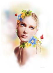 Grandis' Bouquet by KirstenLane
