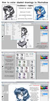 TUTO :: Traditional to Digital by reirei18